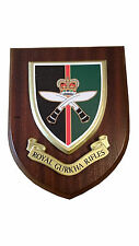 Royal Gurkha Rifles Military Wall Plaque UK Hand Made for MOD