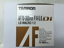 Tamron AF 70-300mm f/4-5.6 Di A17NII Lens Built-In Motor for Nikon FX DX