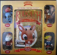 Rudolph The Red Nosed Reindeer 50th Anniversary  DVD Box Set  4 Talking Figures