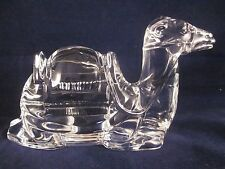 WATERFORD CRYSTAL Nativity Camel ~ EXCELLENT