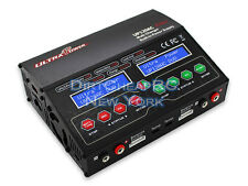Dual 2 Port 12Amp 240W ACDC Balancing Battery Charger LiPo LiHV NiMh UP120AC DUO