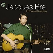 Jacques Brel - The Essential Recordings (2015)  2CD NEW/SEALED  SPEEDYPOST