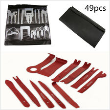 Automotive Trim Kit 49Pcs Stereo GPS CD Removal Interior Door Panel Repair Tool