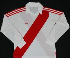 RIVER PLATE ADIDAS ORIGINALS HOME FOOTBALL SHIRT (SIZE M)