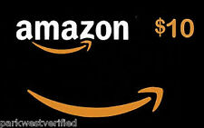 $10 AMAZON GIFT CARD (PHYSICAL) • SHIPS TODAY W/ TRACKING!• MOST TRUSTED SELLER!