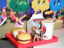 Barbie McDonalds Happy Meal w/toy Tray (C) fits Fisher Price Loving Family Dolls