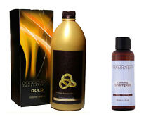 Cocochoco Brazilian Blow Dry NEW LINE GOLD PREMIUM KERATIN 1000ml PLUS SHAMPOO