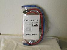 Emergency Car Battery Jumper Cables & Lighter Outlet to Lighter Outlet