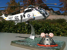 Corgi Sea King Helicopter USN 1969 Apollo 11 Recovery, Sea King & Apollo Capsule