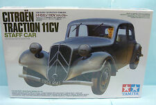 16437 TAMIYA / 35301 CITROEN TRACTION 11 CV STAFF CAR 1/35