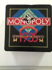 Monopoly Game 1935 Commemorative Edition 50th Anniversary 1985 Collector's Tin