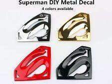 Superman 3D Metal Auto Car Logo Emblem Badge Bonnet Sticker Decal DIY  SALE!