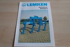 128058) Lemken Vorlockerer Dolomit 9 Prospekt 11/2001