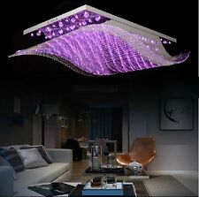 L65cm Sailing Chandelier Crystal Ceiling Light Lamp LED Lighting +Remote Control