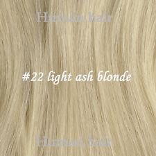 """Tengda 16-22"""" Thick One Piece Clip Remy Human Hair Extensions 100g 120g 140g"""