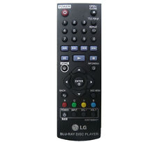 LG 100% Original Remote Control AKB73896401 For BP135 / BP240 BLU RAY Player