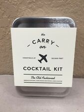The Carry On Cocktail Kit - The Old Fashioned - Bar Drink Mixing - Travel Set