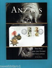 #T54.  2000 LAST ANZACS  $1 PNC WITH BOOK & ORIGINAL PRESENTATION BAG