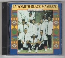 (GY835) Ladysmith Black Mambazo, The Best Of Vol 2 - 1998 CD