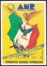 AVIAZIONE 12 AERONAUTICA AEREO PICCOLA CAPRERA RADUNO ANR - BROVARONE Cartolina