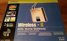 Cisco Linksys WAG354G Wireless-G ADSL Home Gateway Complete