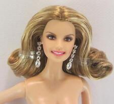 Nude Barbie Model Muse .. Faith Hill .. Earrings