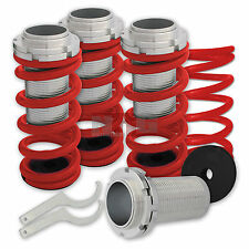 Civic 88-95 Coilovers springs lowering red spring coil over