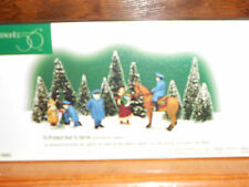 DEPT 56 CHRISTMAS IN THE CITY TO PROTECT AND TO SERVE Set of 3 NIB