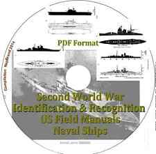 Second World War Identification & Recognition US Field Manuals PDF CD Disk 2
