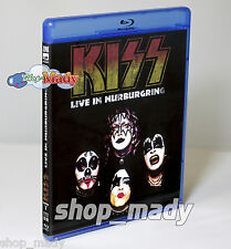 Kiss Live in Nurburgring Blu-Ray Region Free - Multiregion New!