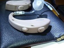 L@@K two NEW ReSound Metrix MX70dvi openfit hearing aids programmed ready to use