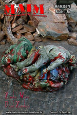 1/35 Scale Resin kit Dead Zombies - heap of corpses – Zombie Wars -