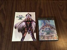 Xenosaga: Episode III 3 (PS2) Brand New - Lenticular Hologram cover + Artbook
