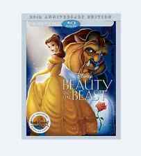 Beauty and the Beast (Blu-ray/DVD, 2016, 25th Anniversary)