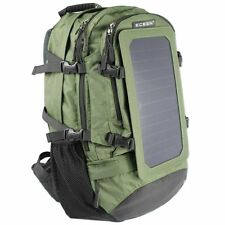 7watt Solar Charger Backpack with 10,000 MAH Battery Pack  for Iphone, Tablets.