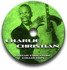 CHARLIE CHRISTIAN Blues Guitar schede tablature SONG BOOK CD software