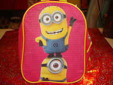 Despicable Me Minions Small Backpac / Carry Bag...3.99