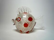 Sehr selten! Ein wunderschöner Fisch; Archimede Seguso, um 1950; Murano.