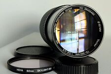 PENTAX PK FIT VIVITAR 75-250 MM 1:3.8-4.5 MACRO ZOOM LENS GOOD CONDITION (USED)