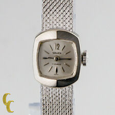 Gruen L.A Women's Watch 14K White Gold Hand-Wind