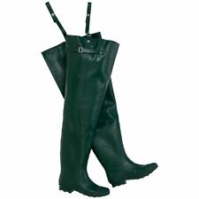 Wenzel / Rokk 100% Water Proof Vulcanized Mens Rubber Chest Waders Size **New**