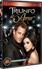 Telenovela TRIUNFO DEL AMOR William Levy Maite Perroni DVD