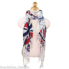 TrendsBlue UK British Flag Union Jack Peace Scarf