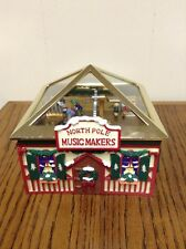 MR CHRISTMAS GOLD LABEL NORTH POLE MUSICAL MAKERS MUSIC BOX 2007
