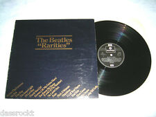 LP - Beatles Rarities - UK Promo PSLP # cleaned