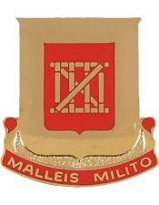 0062 Engineer Battalion Unit Crest (Malleis Milito)