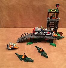 8632 Lego Agents Swamp Raid complete minifig alligator motorcycle