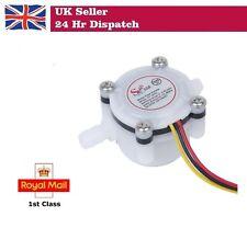 Water Flow Sensor Fluid Flow meter Switch Counter 0.3-6 L/min Meter  NEW