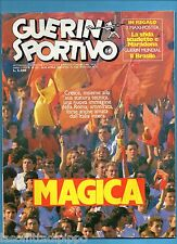 GUERIN SPORTIVO-1986 n.16- MAGICA ROMA - POSTER UDINESE