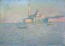 Claude Monet The Church of San Giorgio Maggiore Venice Giclee Canvas Print Paint